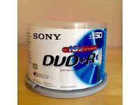 SONY DVD+R x 50 discs