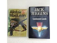 Where Eagles Dare -Alistair MacLean / Luciano's Luck - Jack Higgins.