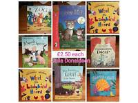 Julia Donaldson children's books