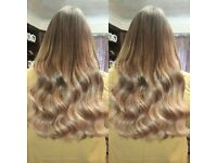 Salon Professional Hair Extensions in the comfort of your own home