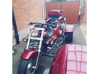VW TRIKE AND TRAILER