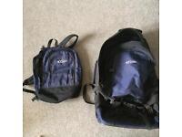 Travelling rucksacks