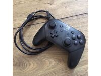 Official Nintendo Switch Pro Controller Gamepad - Black - Like New