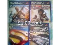 Selling DVD Films and PS2/PS3 Games