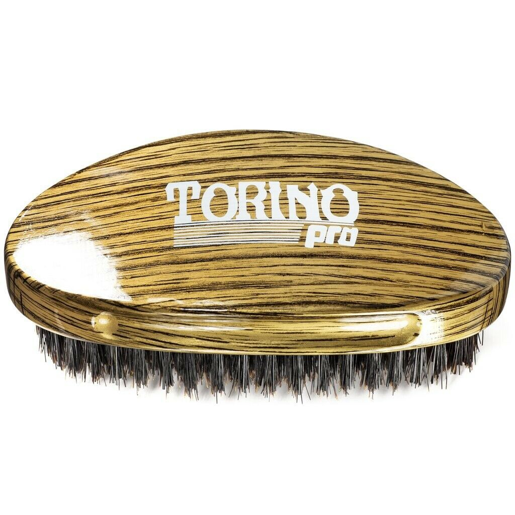 #1780 Torino Pro Medium Hard Palm Curve Wave Brush By Brush