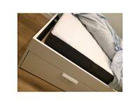 IKEA MORGEDAL Memory Foam Mattress In Dark Grey