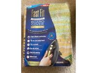 Fast fit ironing board cover