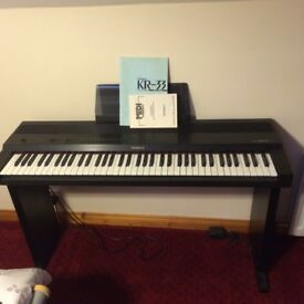 Roland KR33 (KR-33) electric piano keyboard