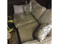 FREE 3 seat sofa and armchair- collection only.