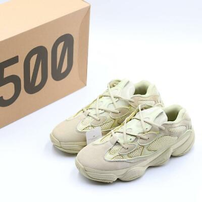 Adidas Yeezy 500 Men Trainers Color Super Moon Yellow  Size UK 9.5 DB2966