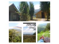 COSTA RICA mountain chalet. Amazing views. 45 mins from airport. VERY very low cost!