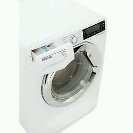 HOOVER!!! WDXP596A2 9KG WASH 6KG DRYER 1500 SPIN WASHER DRYER WHITE WITH 12 MONTHS WARRANTY