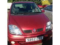 Renault MEGANE SCENIC 48500 miles £400