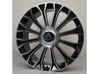 """20"""" Maybach style Wheels & Tyres suitable for Audi A4, A5, A6 Etc"""