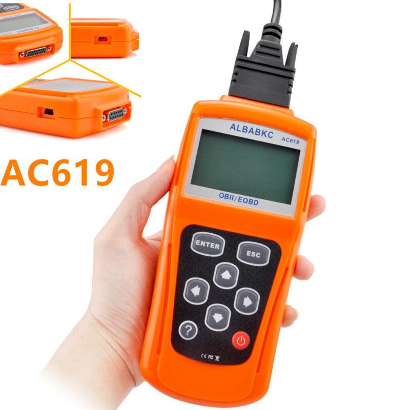 Professional AC619 OBD2 OBDII Car Off-Road Fault Diagnostic Scanner Tester Tool