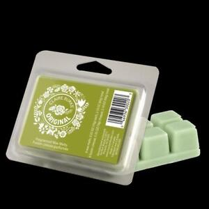 Claireburke Wax Melts Orignal,Simply pop out a cube from the 6 piece brick and melt in your favorite warming device