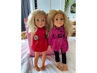Two designer friend dolls
