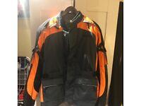 Weise nevada motorbike scooter waterproof jacket. Detachable liner.Brand new RRP £130