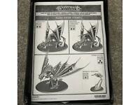 Warhammer Age of Sigmar Vampire Lord on Zombie Dragon / Terrorgheist