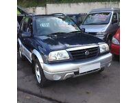 HI SPEC 2003 SUZUKI GRAND VITARA 5 DR /LOW MILES/NEW MOT/BRAND NEW CAMBELT/IDEAL SIZE 4WD