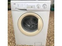Zanussi Essential A rated 6kg 1200 speed washing machine.