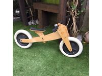 Wishbone 3 in 1 balance bike
