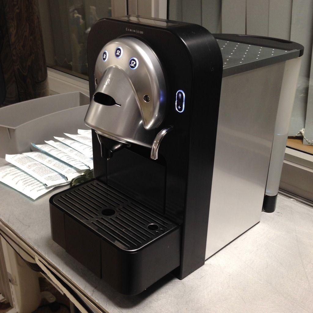 professional nespresso gemini cs 100 cs100 pro capsule. Black Bedroom Furniture Sets. Home Design Ideas