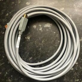 Refurbished GREY CISCO HDMI 72-101034-01 8m/15ft