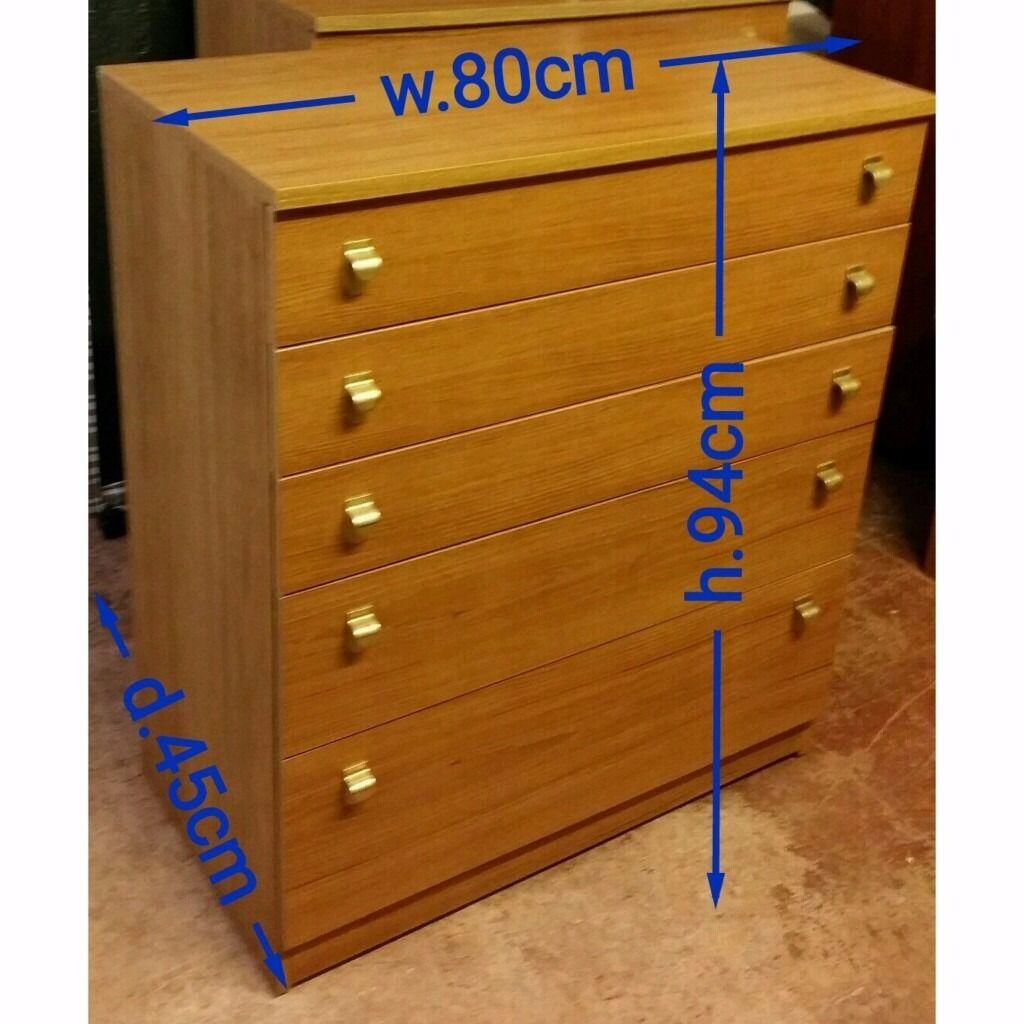 Schreiber chest of drawer in very good condition.