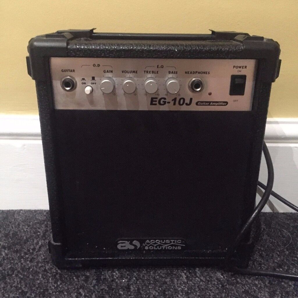 Acoustics Solutions eg-10j 30w guitar amp barely used great condition