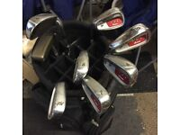 Dunlop ddh custom left hand irons set
