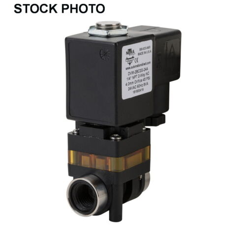 AUTOMATION DIRECT NITRA DVM-2BC2G-24A MEDIA SEPARATED SOLENOID VALVE 2-WAY 2-POS
