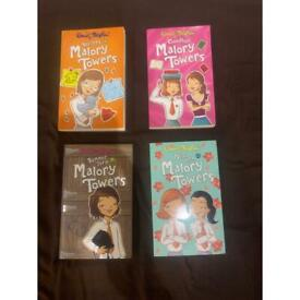 4 x Enid Blyton Malory Towers and 2 other books for children kids bedtime