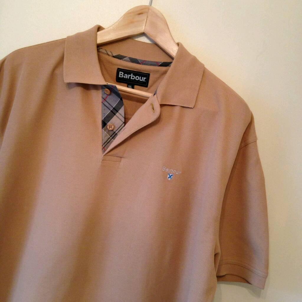 Barbour Polo T-Shirt, Size XXL