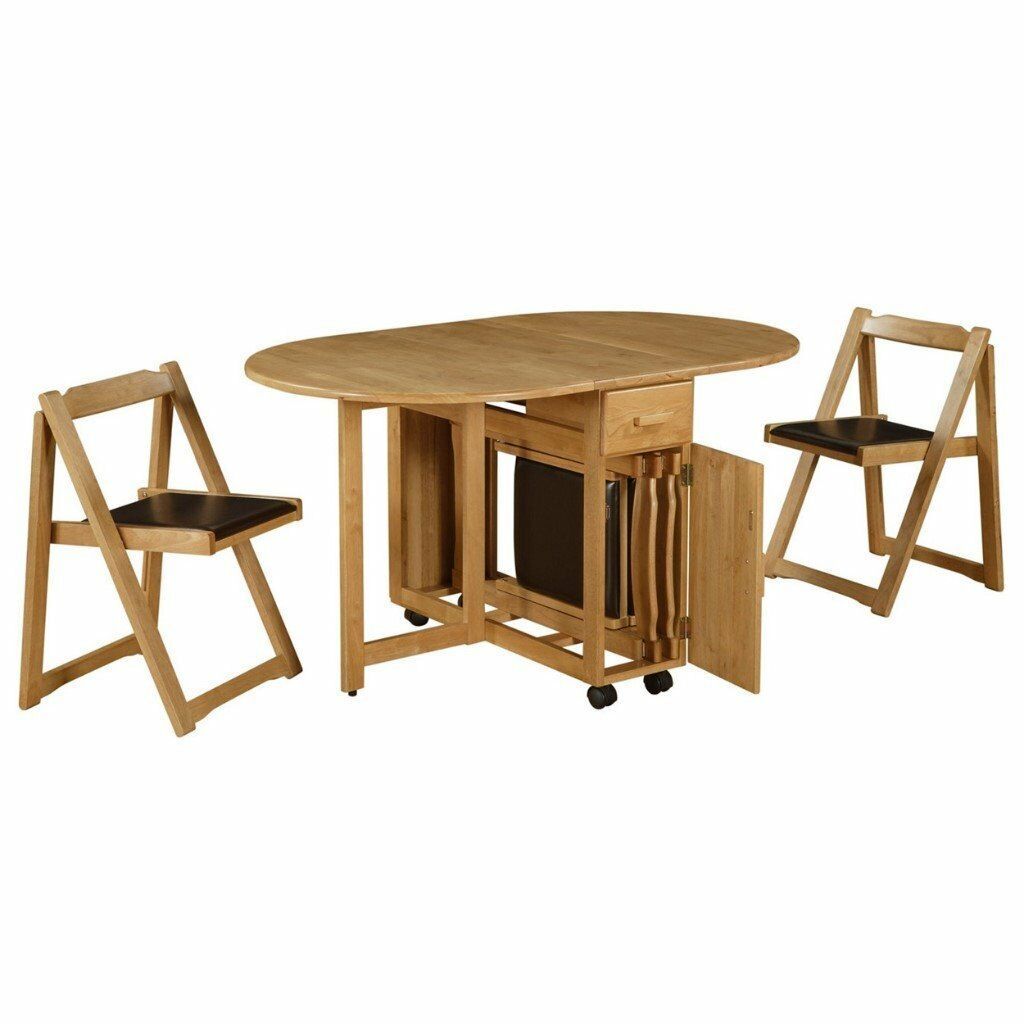 Debenhams Oak Effect Stowaway Extending Table Chairs