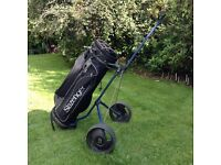 Slazenger Golf Club Bag & Trolley