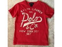 Ralph Lauren T-Shirts Age 6