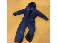 Kids Winter Snow Suit - Spindrift brand - age 6-8 (Royal Blue)