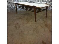 Mid Century Coffee Table/Magazine Rack