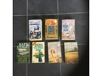 Books 7 soft backs non fiction