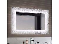 Galactic Designer Illuminated LED Mirror - Switch Control 600x900mm