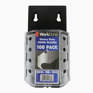 Hook Blades 100 Pack - Bulk Discounts