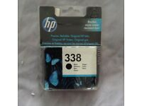 Brand New and Unopened HP 338 Black Ink Cartridge