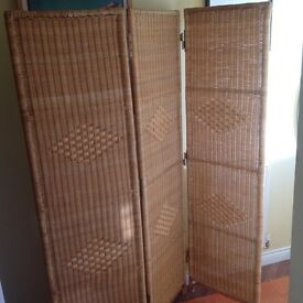 Bamboo screen/room divider