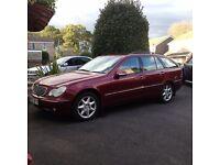 Mercedes C240 Elegance Estate. Auto