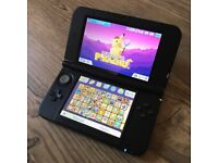 Nintendo 3DS XL 42 Game Bundle Pikachu Mario