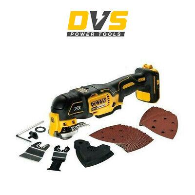 Dewalt DCS355N Oscillating Multi-Tool 18V li-ion Cordless Brushless 29 Accessori