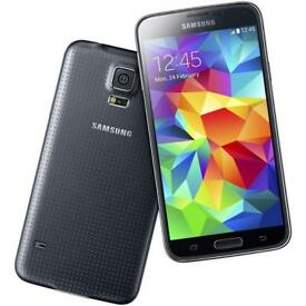 samsung s5 unlokced 16gb great condition with charger and free case tempered glass protector £120
