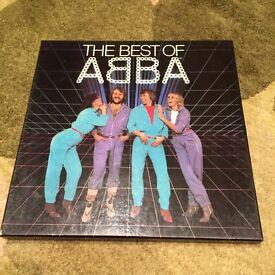 Vinyl box set of Abba's greatest hits
