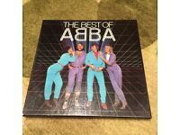 Vinyl box set of Abba's greatest hits